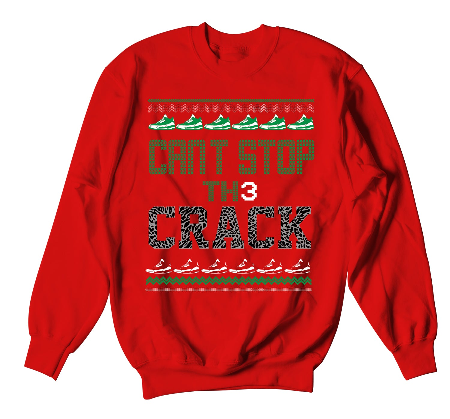 Ugly Christmas Sweater - Cant Stop
