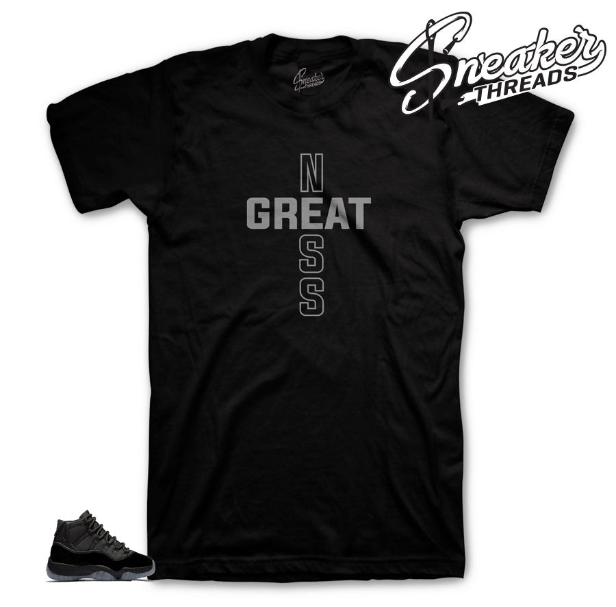 Jordan 11 Cap & Gown NessGreat Shirt