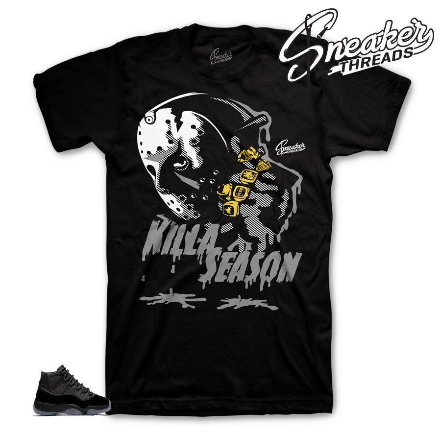 Jordan 11 Cap & Gown Kills Season Tee