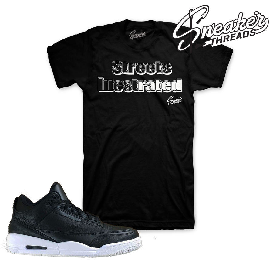 Cyber monday jordan 3 shirts match retro 3 sneaker tee.