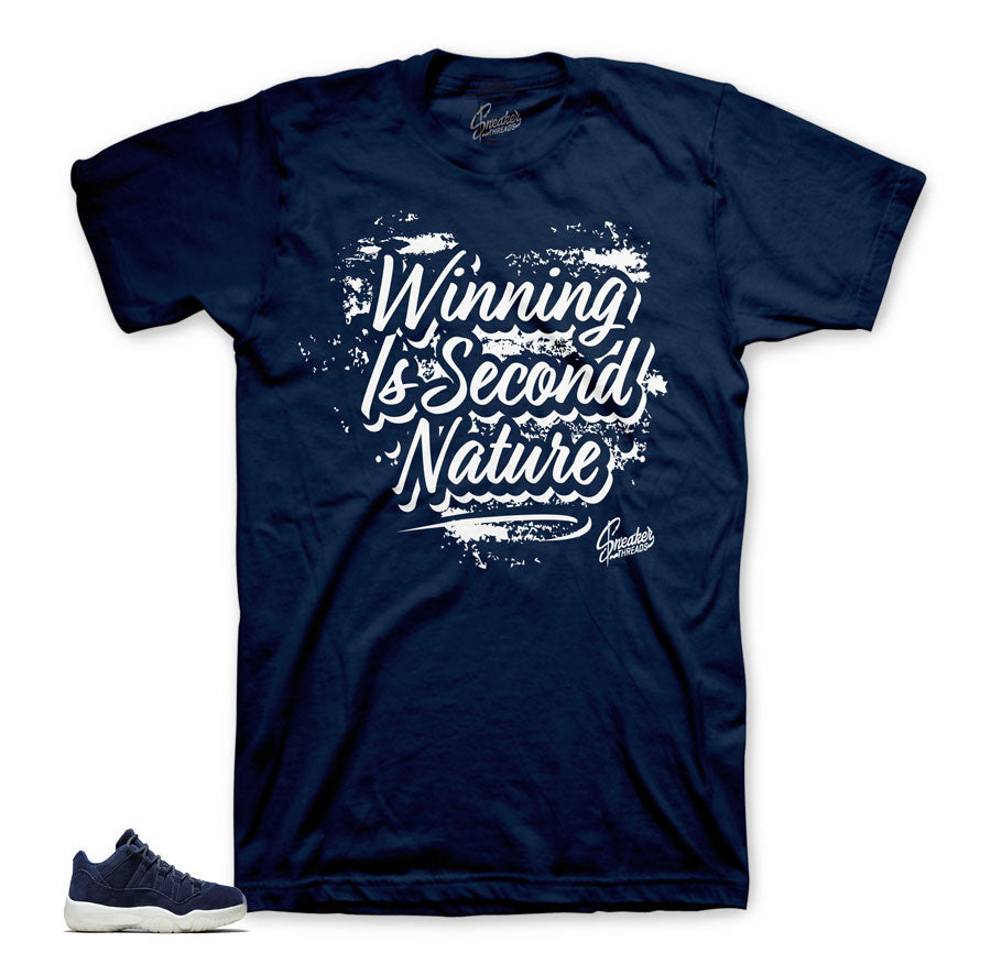 Jordan 11 Jeter Matching Second Nature Shirt