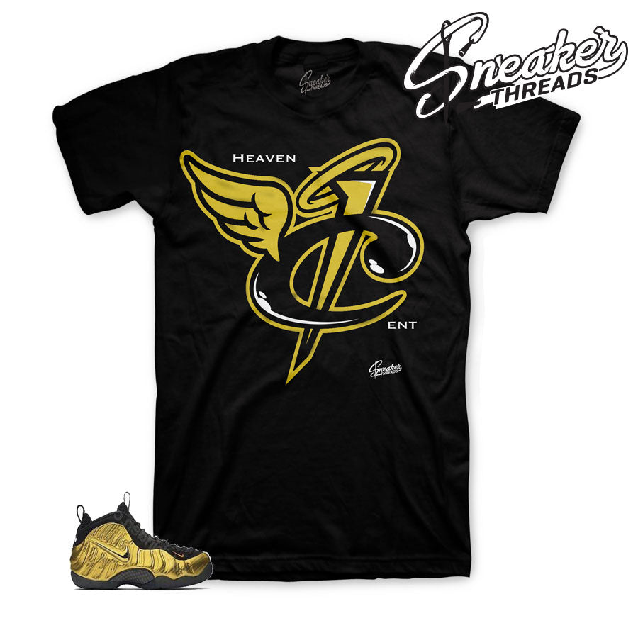 Foamposite Metallic Gold Heaven Cent Shirt