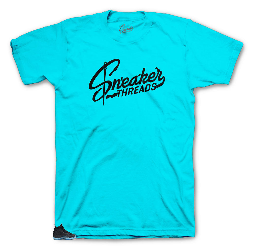Lagoon Sneaker threads shirt to match Foam Hornets perfect