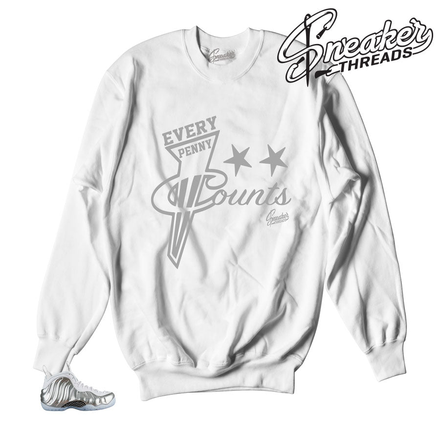 Foampoiste chrome sweater match foam blue tint sweatshirts.
