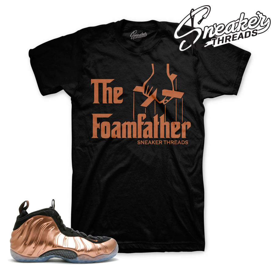 Foamposite Copper Foamfather Shirt