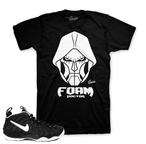Foamposite dr. doom shirts match foam doom sneaker tees.