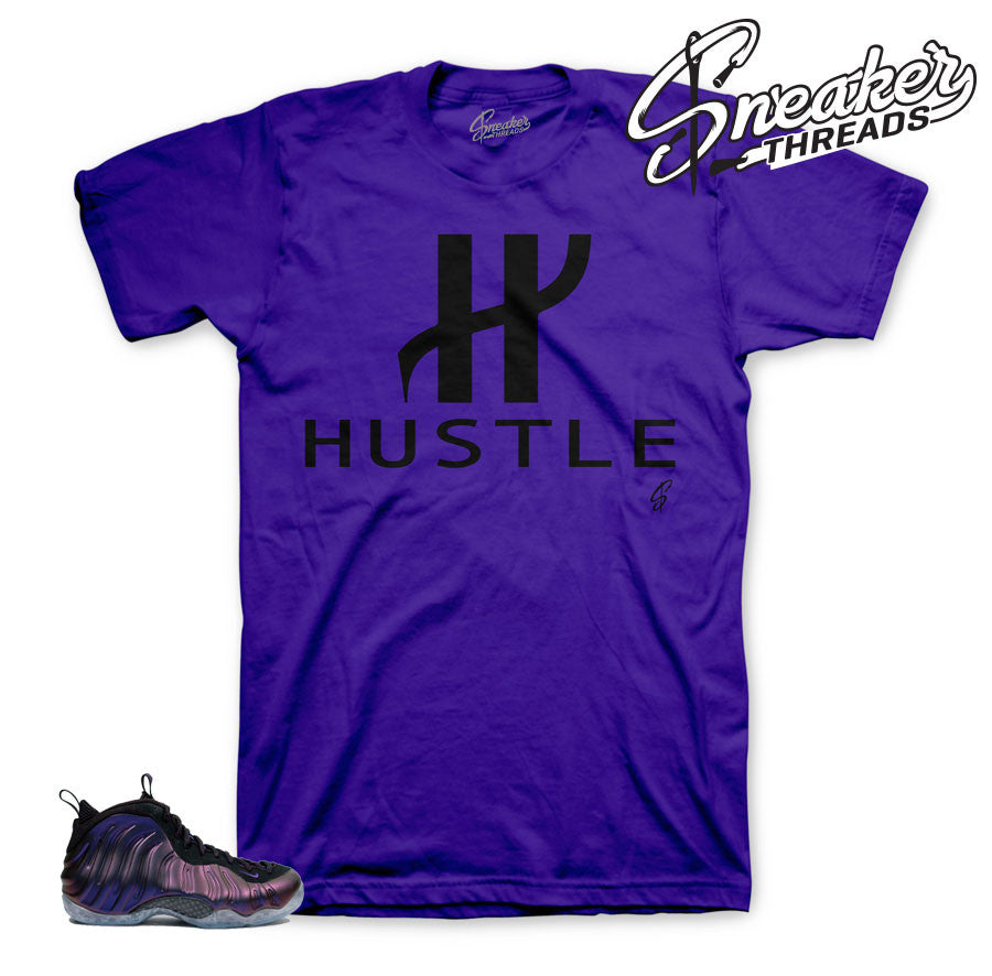 The newest shirts to match foamposite eggplant.