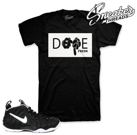 Foamposite mr. doom tees match foam mr. doom sneaker shirts.