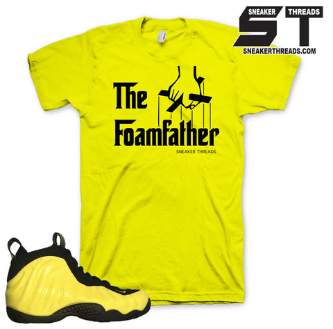 Foamposite Optic Yellow Foamfather YELLOW Shirt