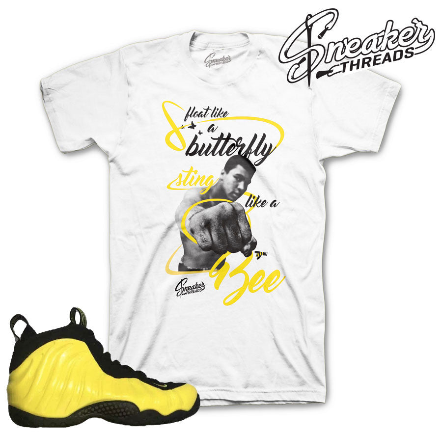 Shirts match foampoite optic yellow foam wu tang fresh new tees.