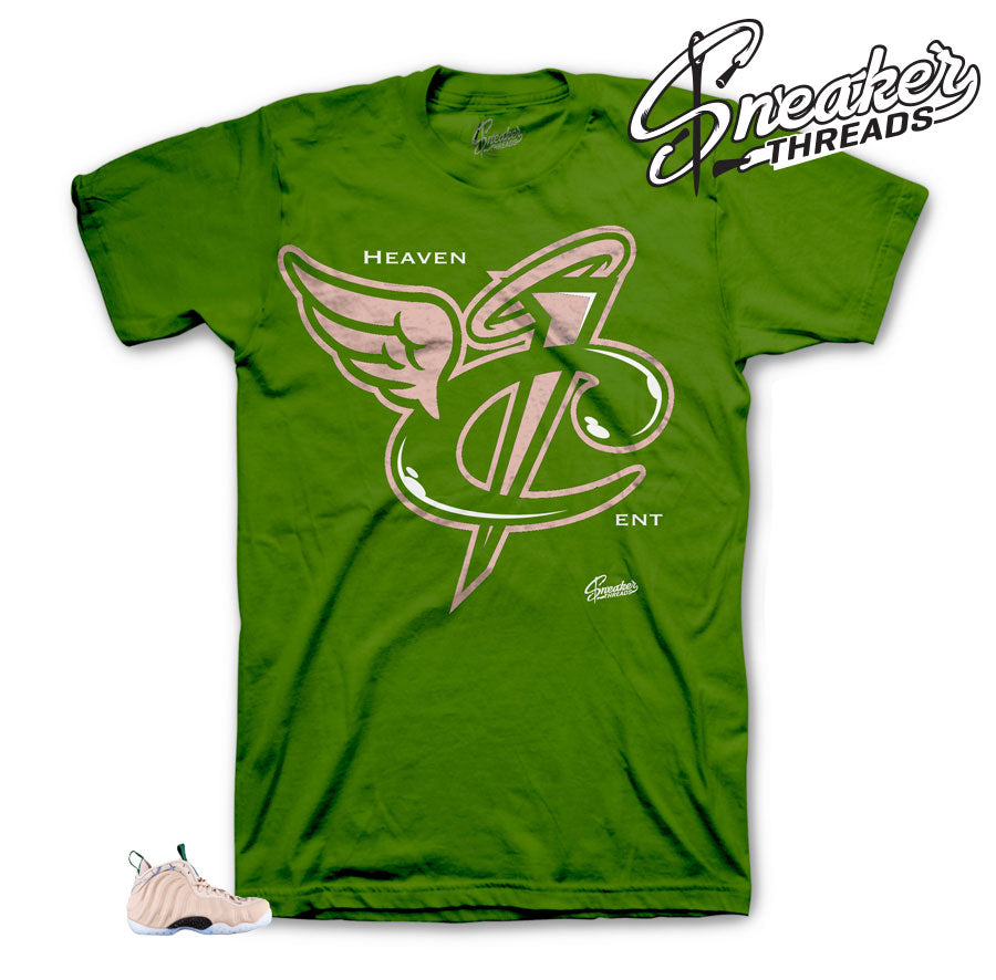 Foamposite Particle Beige Heaven Cent Shirt
