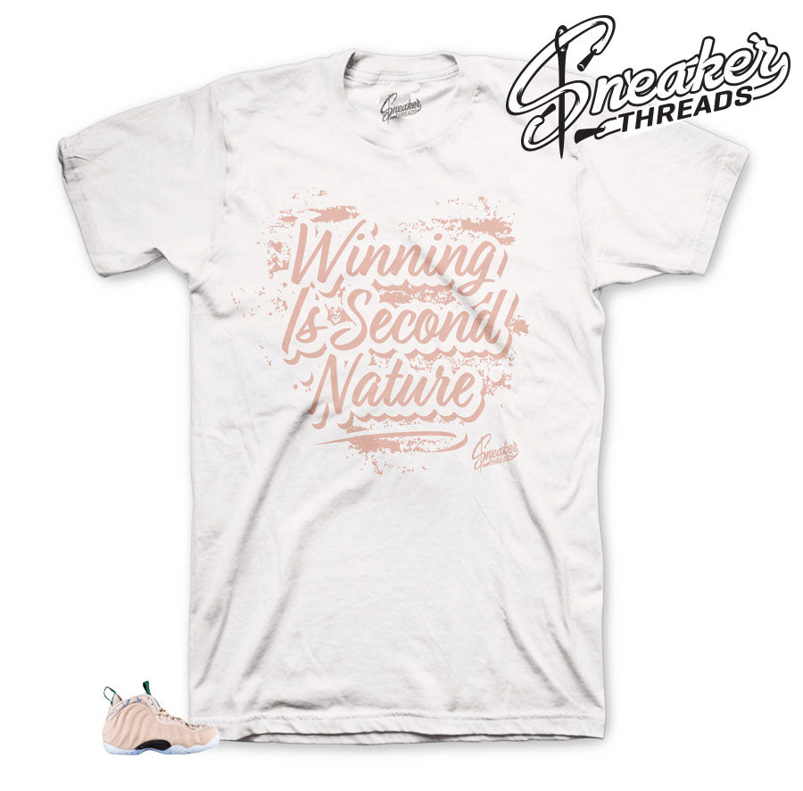 Foamposite Partical Beige Second Nature Shirt