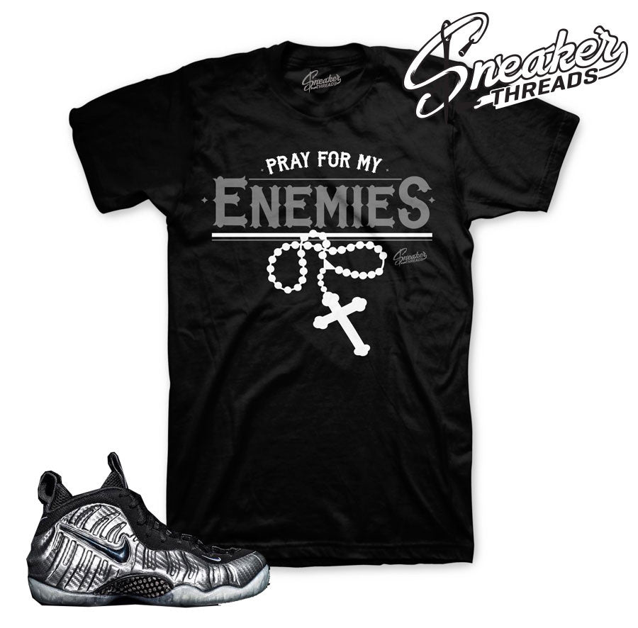 Silver surfer foamposite tees match shoes | Sneaker Shirts