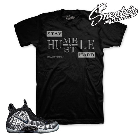 Foamposite Silver Surfer Stay Humble Shirt