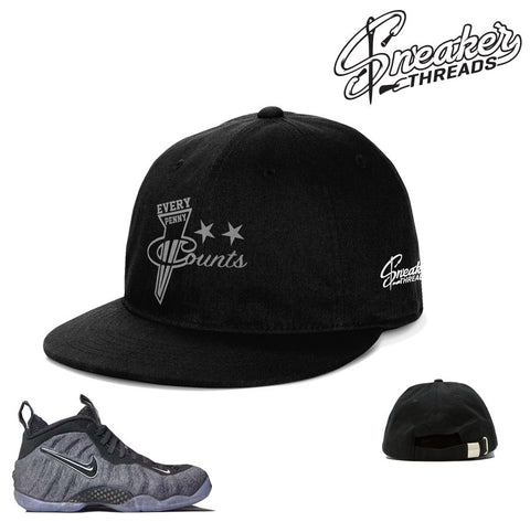Foamposite tech fleece hats match foam wool hat.