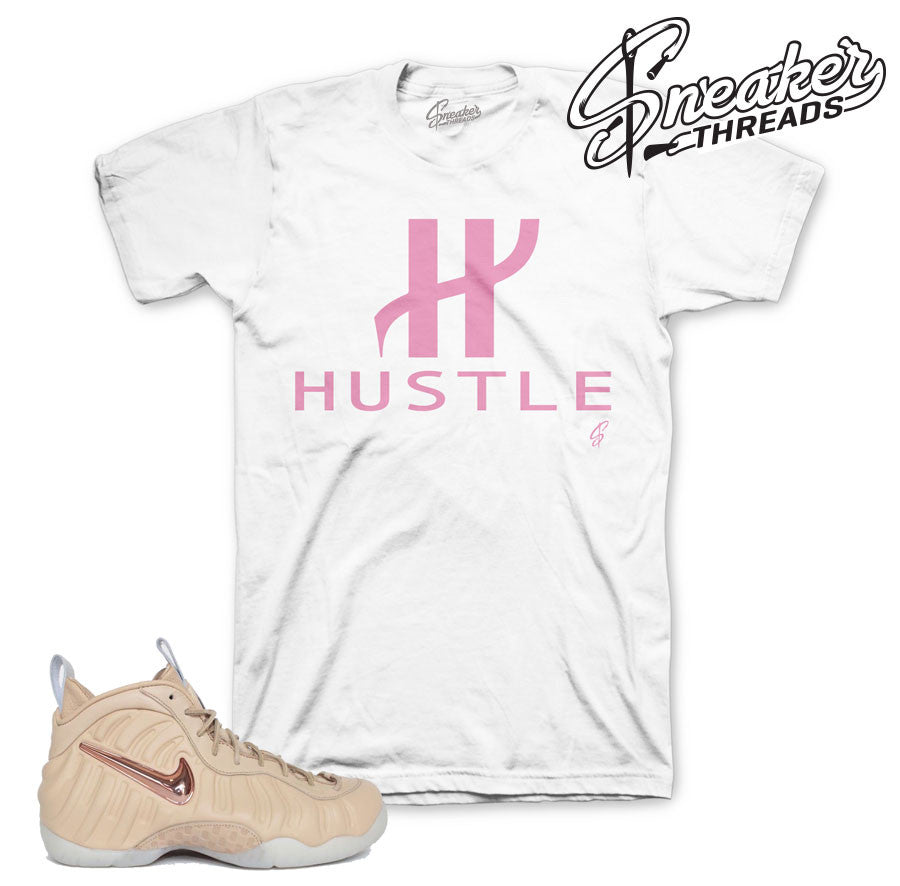 Foamposite vachetta tan tees match sneakers | Sneaker tees