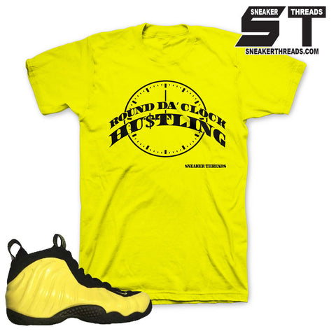 Wu tang fomaposite shirts match foam optic yellow tees.