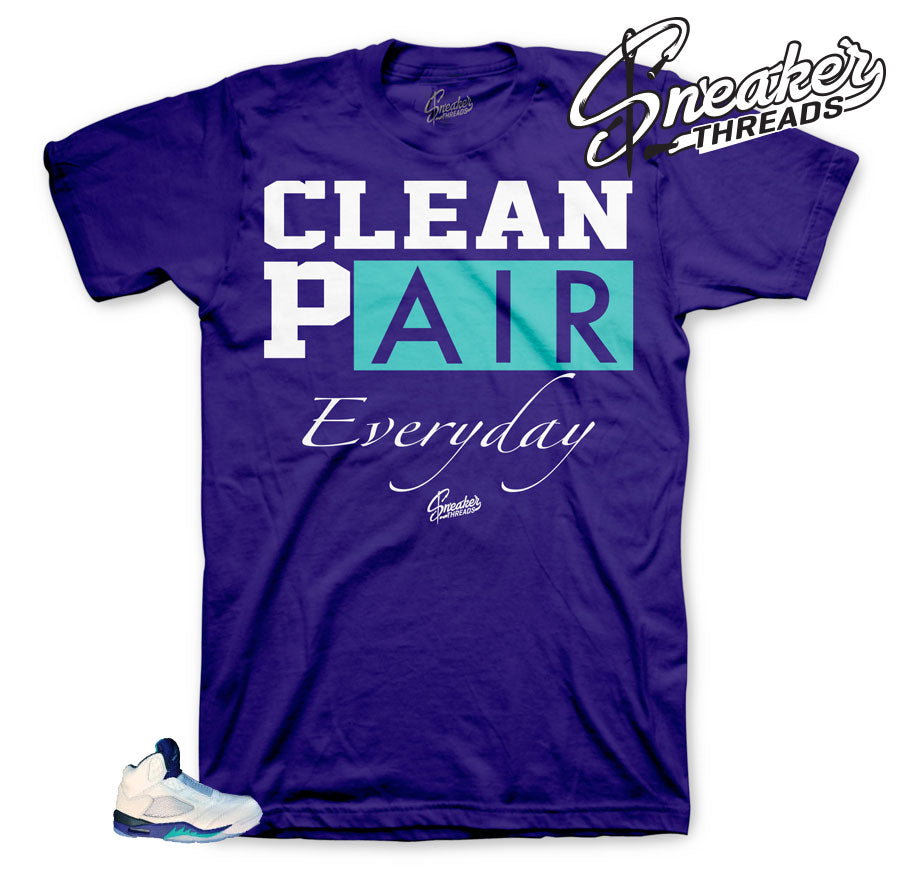 Jordan 5 Grape Bel Air Everyday shirt