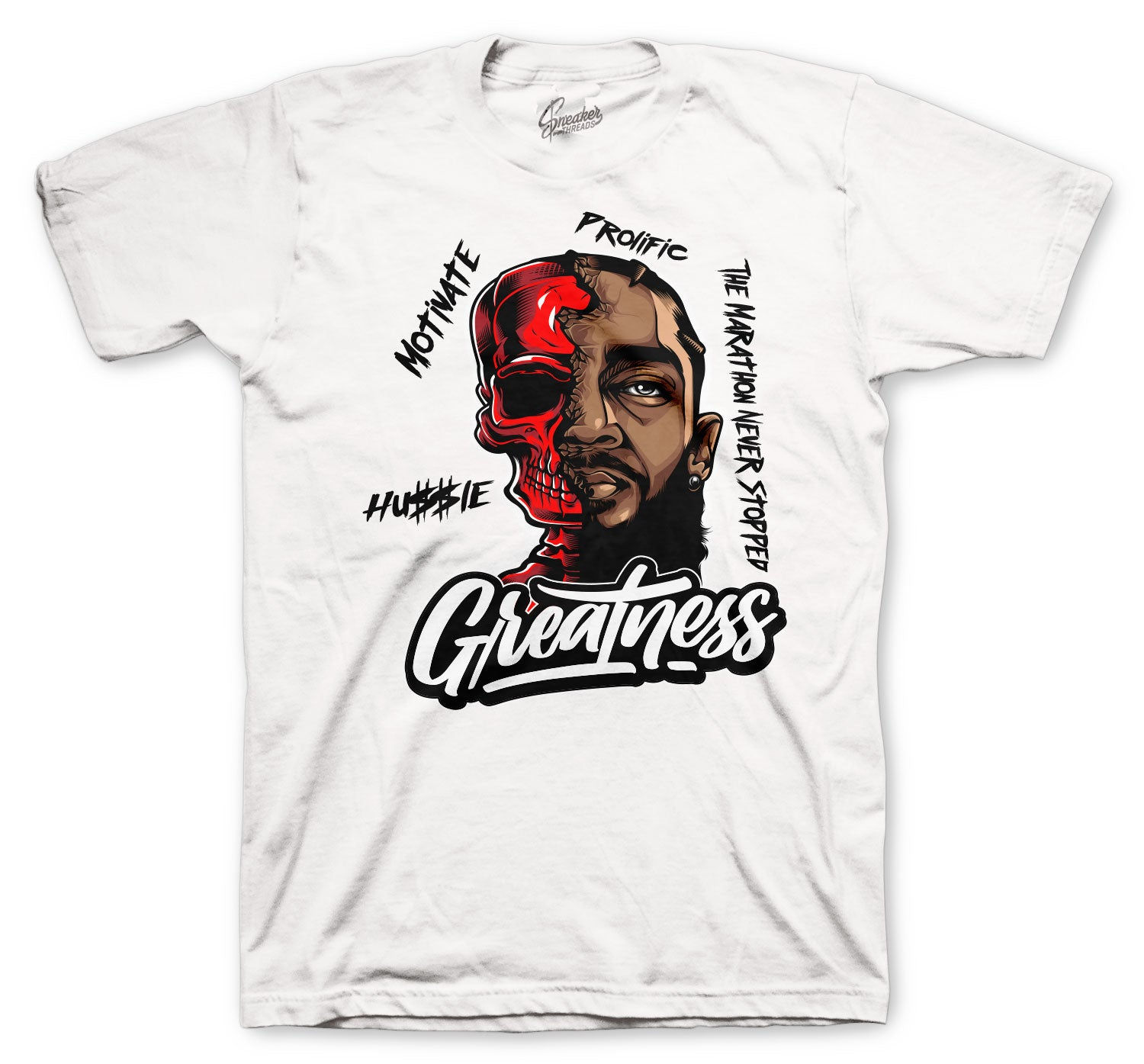 Jordan 5 Fire Red Great Nip Shirt