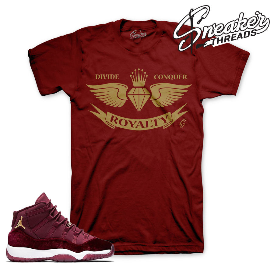 Shirts match Jordan 11 heiress match retro 11's t-shirts.