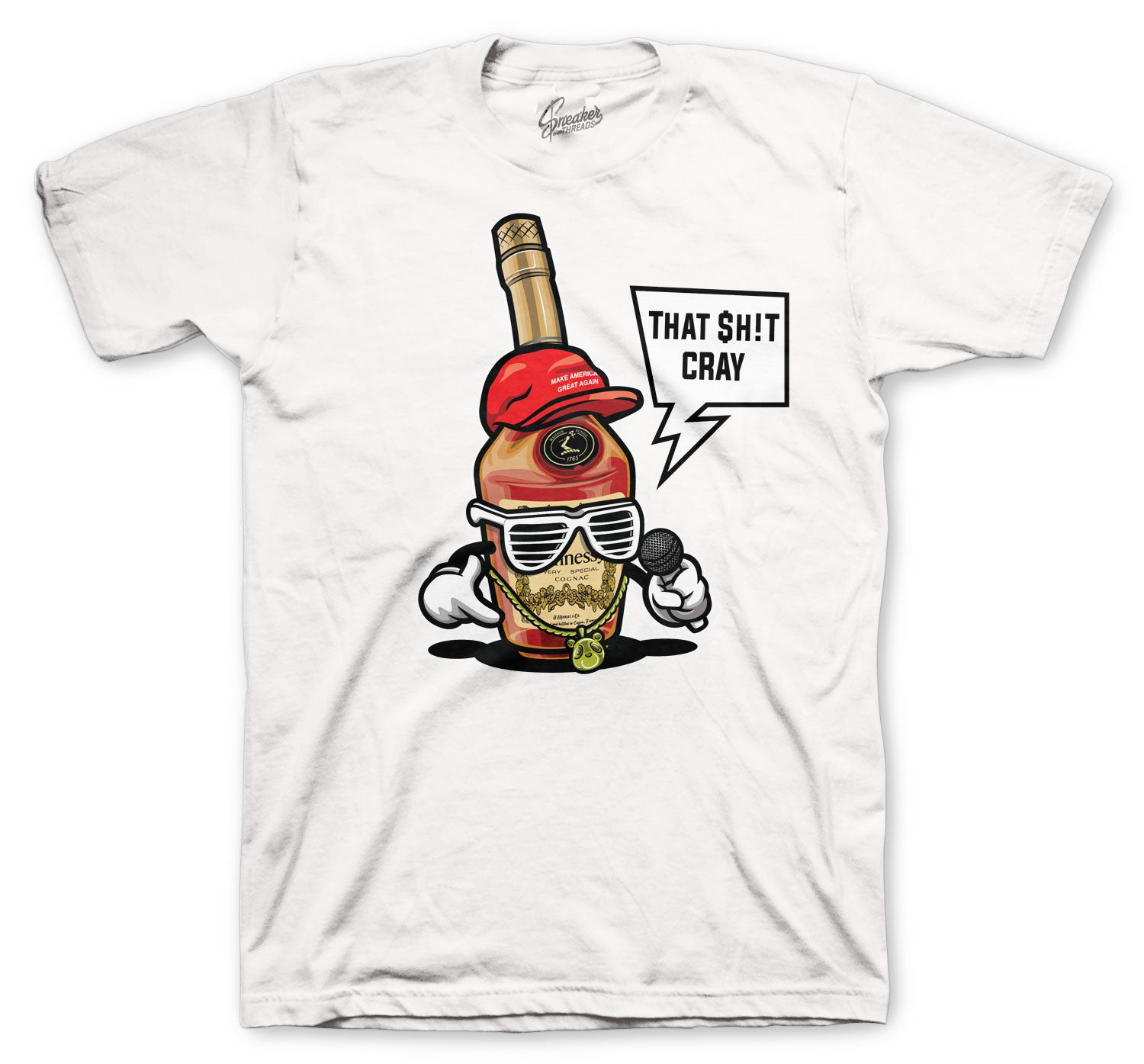 Jordan 5 Fire Red Hen-eezy Shirt