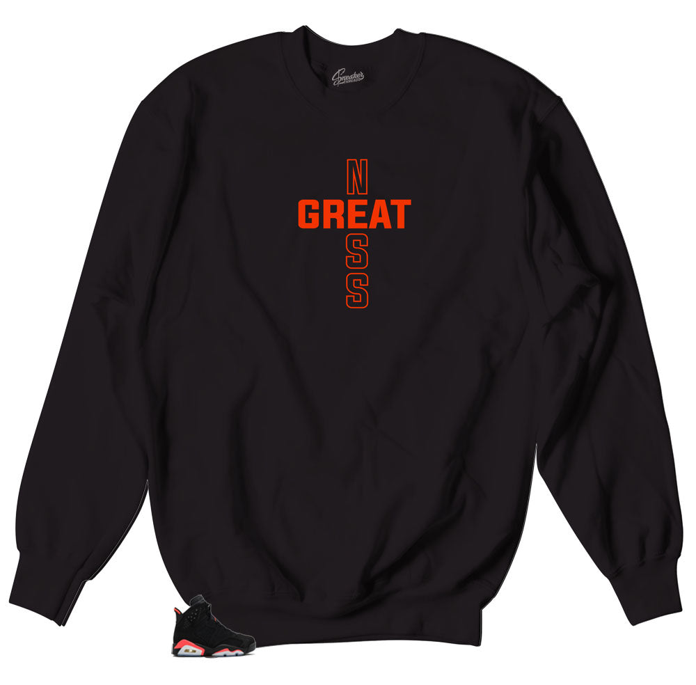Jordan 6 infrared sweaters | Haters never prosper sweater.