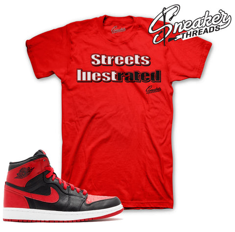 Jordan 1 Banned 31 shirts match retro 1 banned sneaker tees.