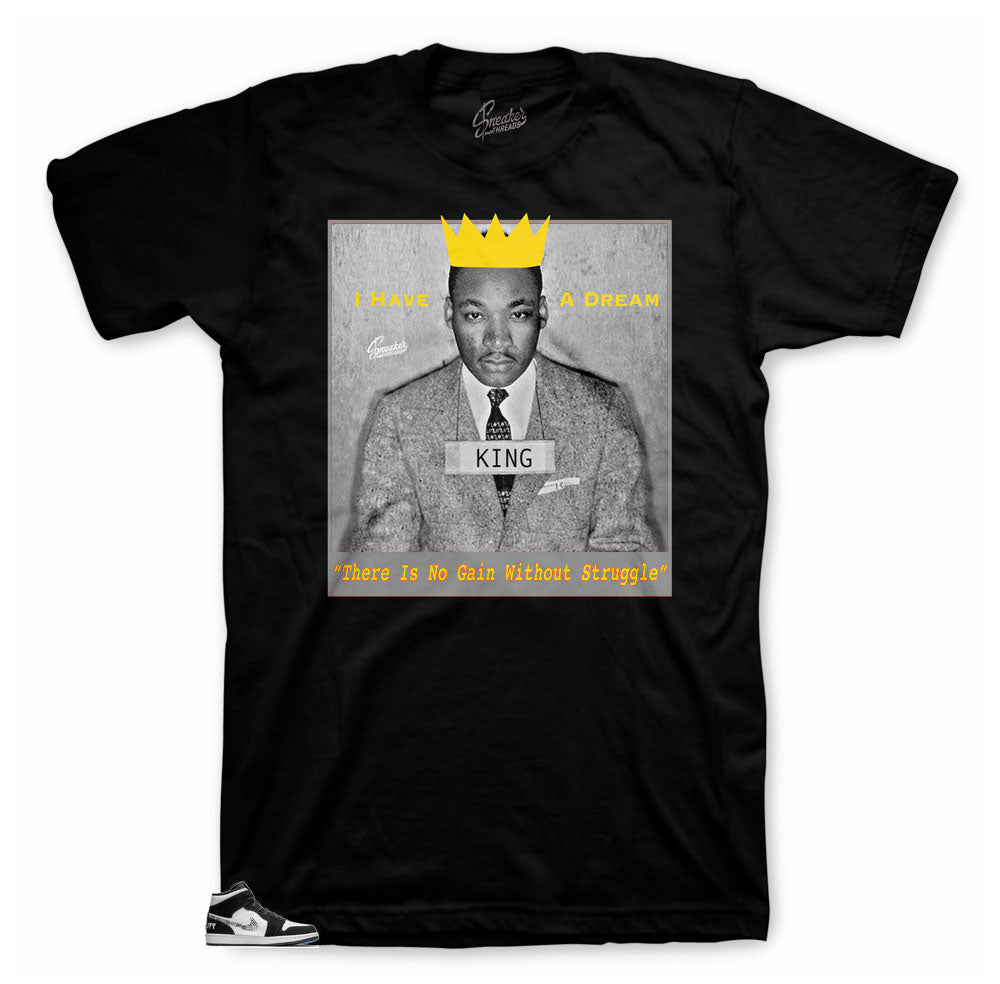BHM 2019 Jordan 1 Equality sneakers matching tees designed to match Jordan 1 Equality