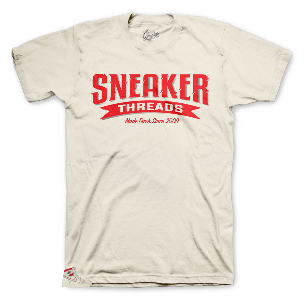 Sneaker Shirts made to match the Jordan 1 Phantom sneaker collection