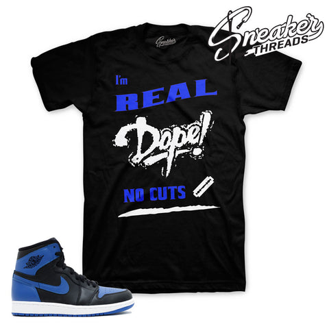 Jordan 1 OG Royal tee match | Official Matching Shirts