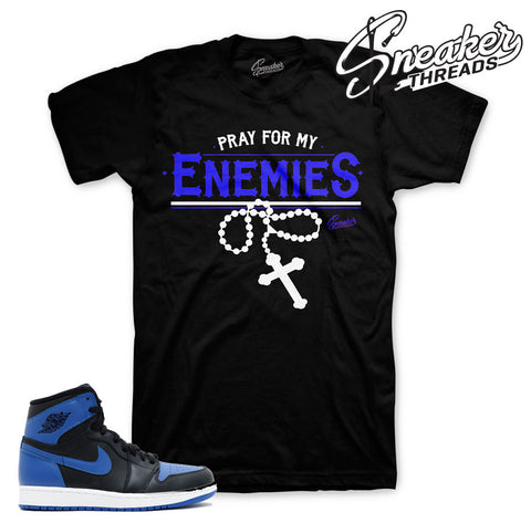 Tees match Jordan 1 OG Royal | Official Matching Tee