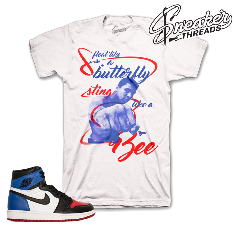 Match Jordan 1 top 3 shirts retro 1 top 3 sneaker tees.