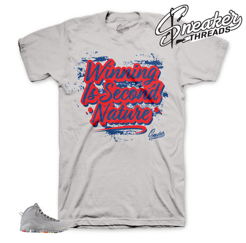 Jordan 10 cool grey shirts match | Cool grey 10 sneaker tees.