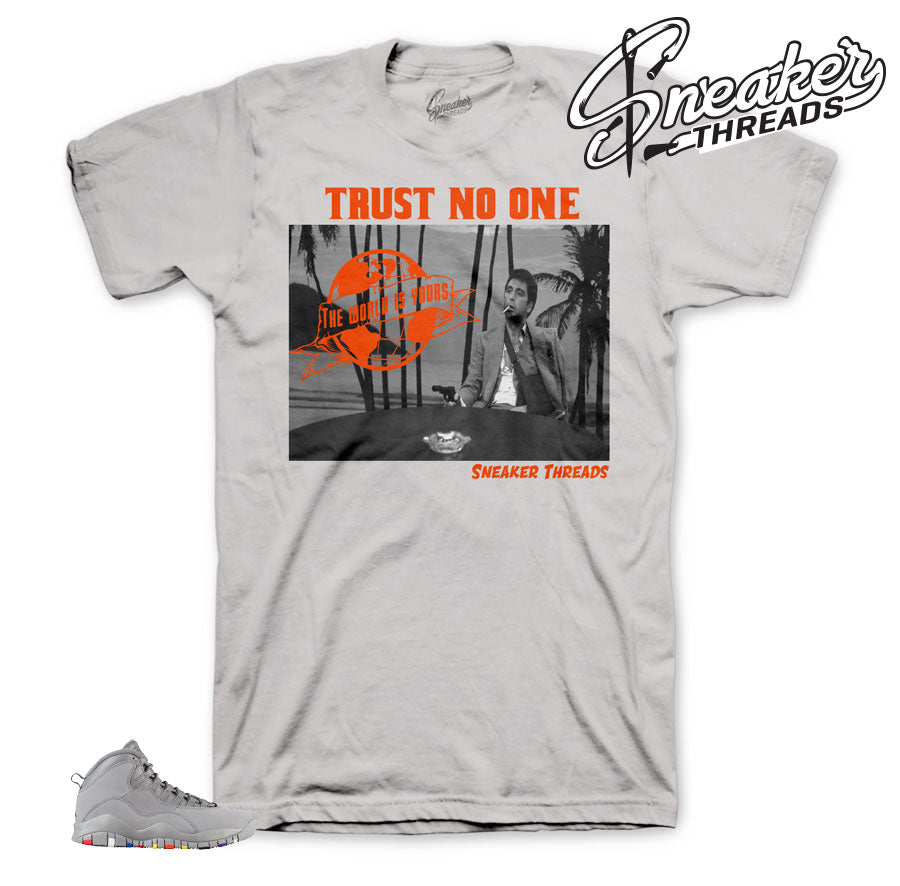 Jordan 10 cool grey tees match | official matching sneaker tees.