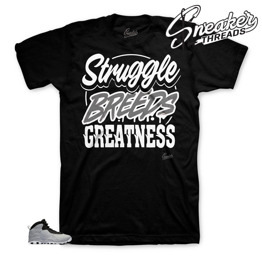 Struggle Breeds Shirts to match Smoke Grey 10's