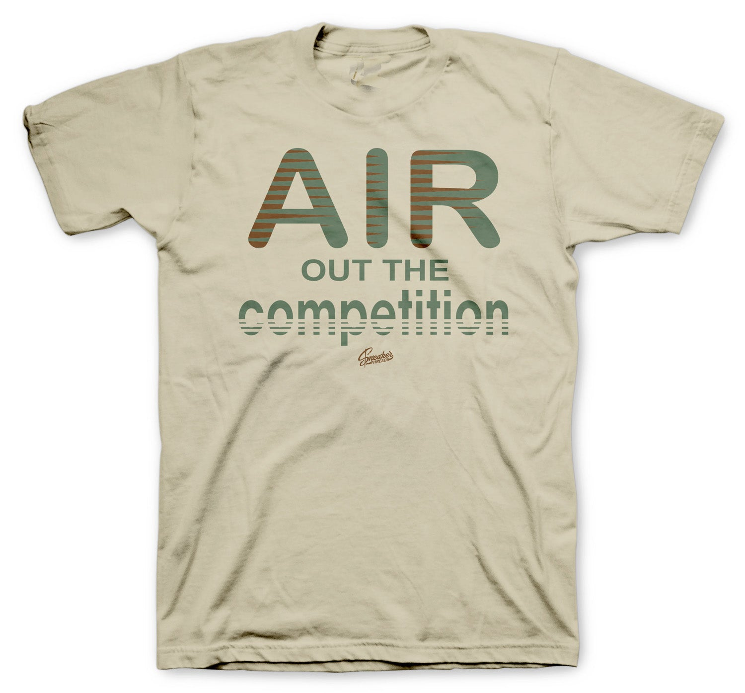 tees created to match perfect with the Jordan 10 desert clay camo sneaker collection