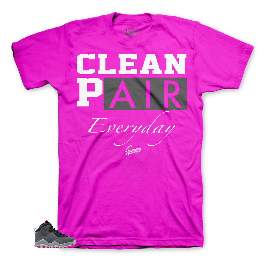 Perfect everyday shirt to match Rush Pink 10's