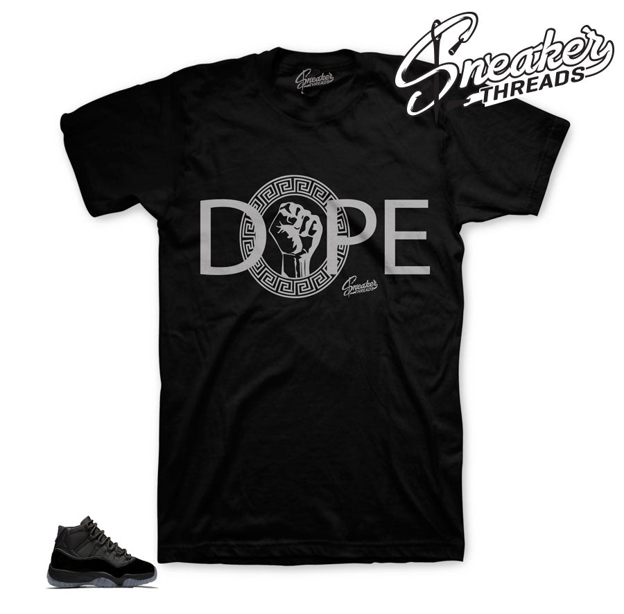Jordan 11 Prom Night DOPE Shirt