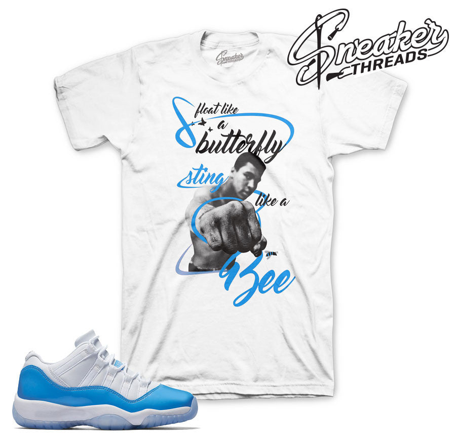 Jordan 11 Columbia Blue Tees | Sneaker Match Shirts