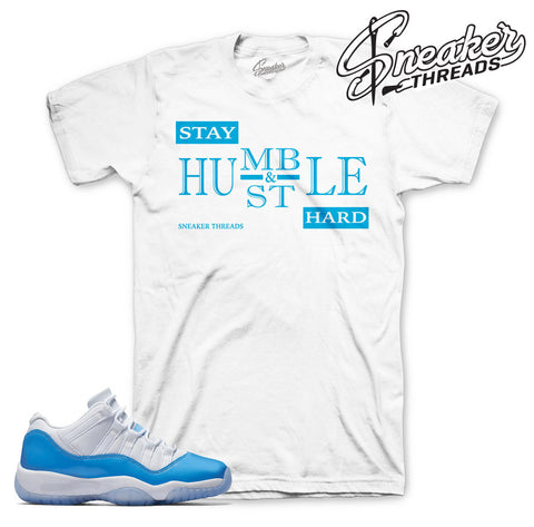 Jordan 11 Columbia Blue Tee Match | Official Sneaker Tee