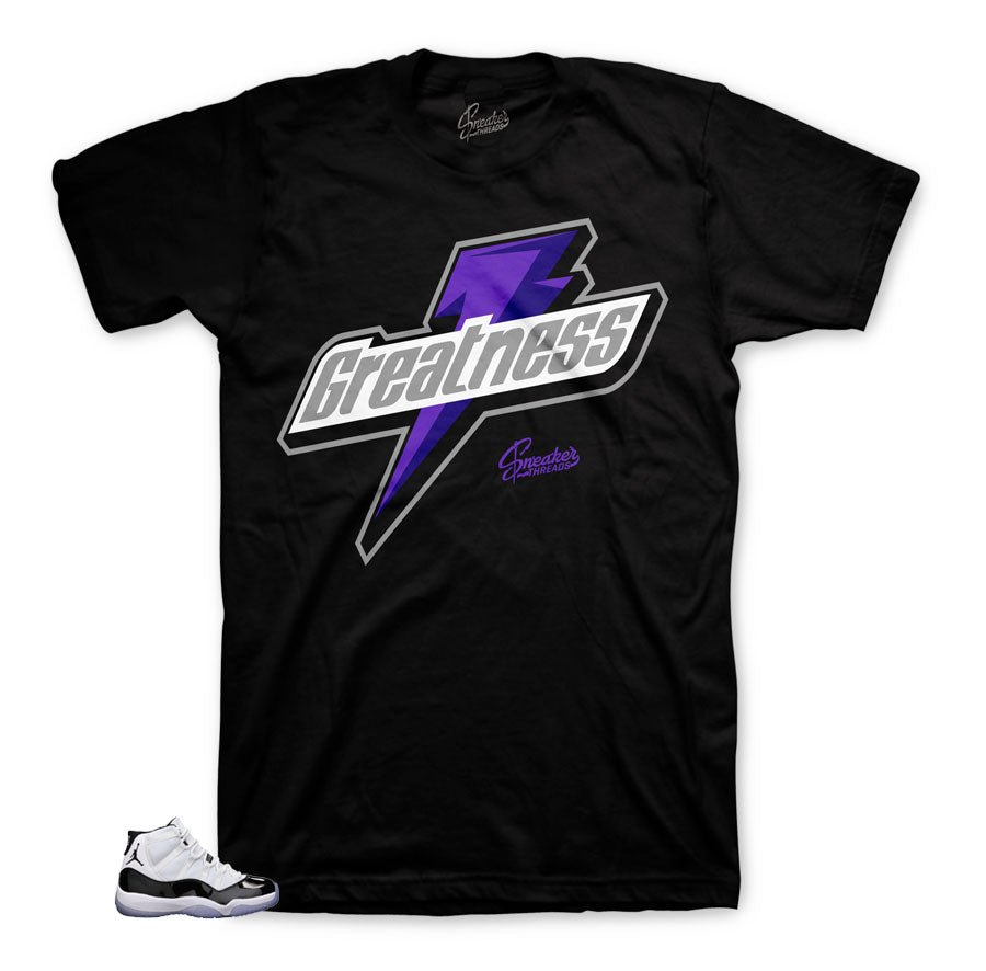 Concord Jordan 11 tees match shoes | Sneaker tees match Retro 11