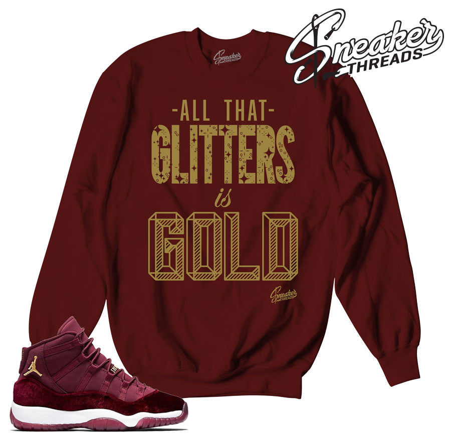 Match Jordan 11 heiress sweaters match retro 11 sweatshirt.