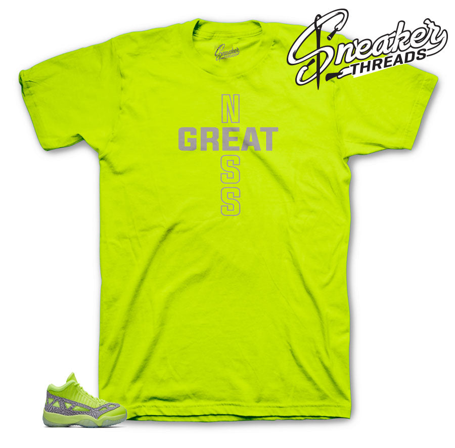 Jordan 11 Volt Greatness One Shirt