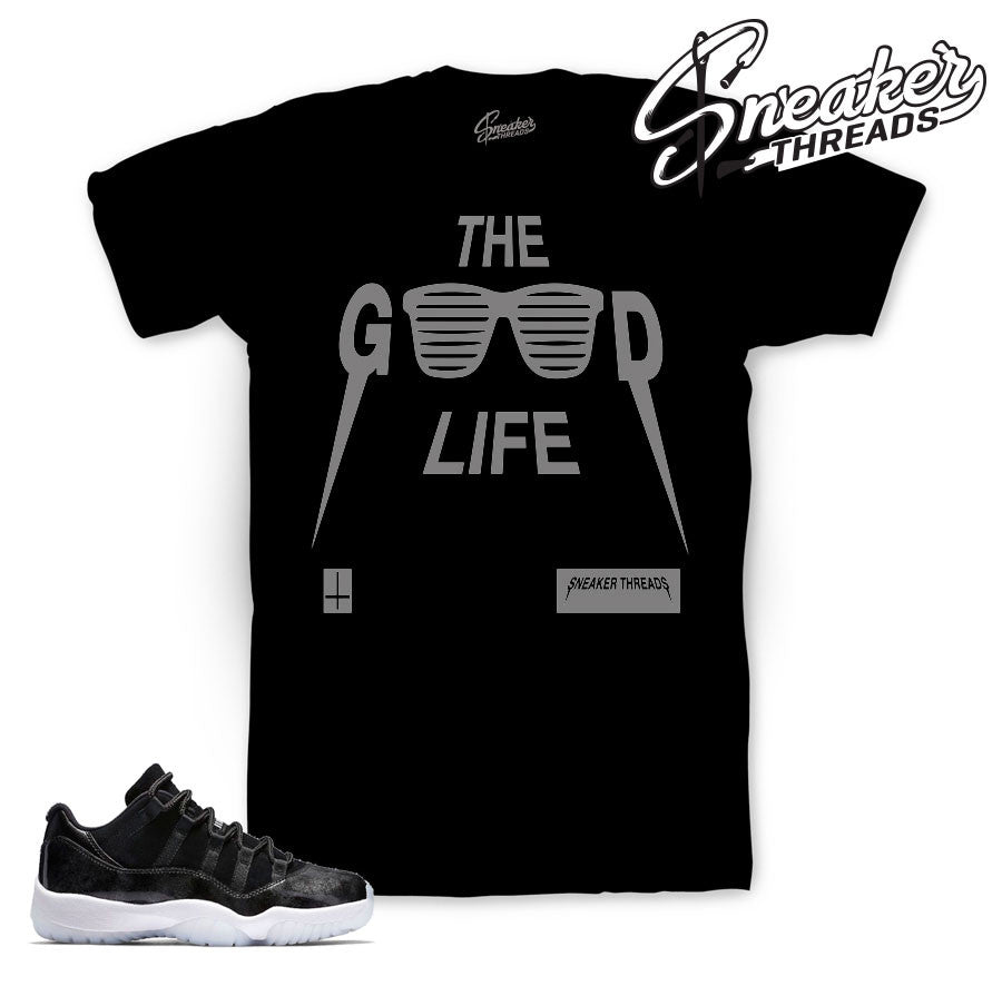 Jordan 11 Baron tee match | Official sneaker match tees
