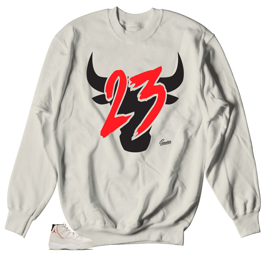 fbf5ffbbe28 Home Jordan 11 Platinum Tint Toro Sweater. Share