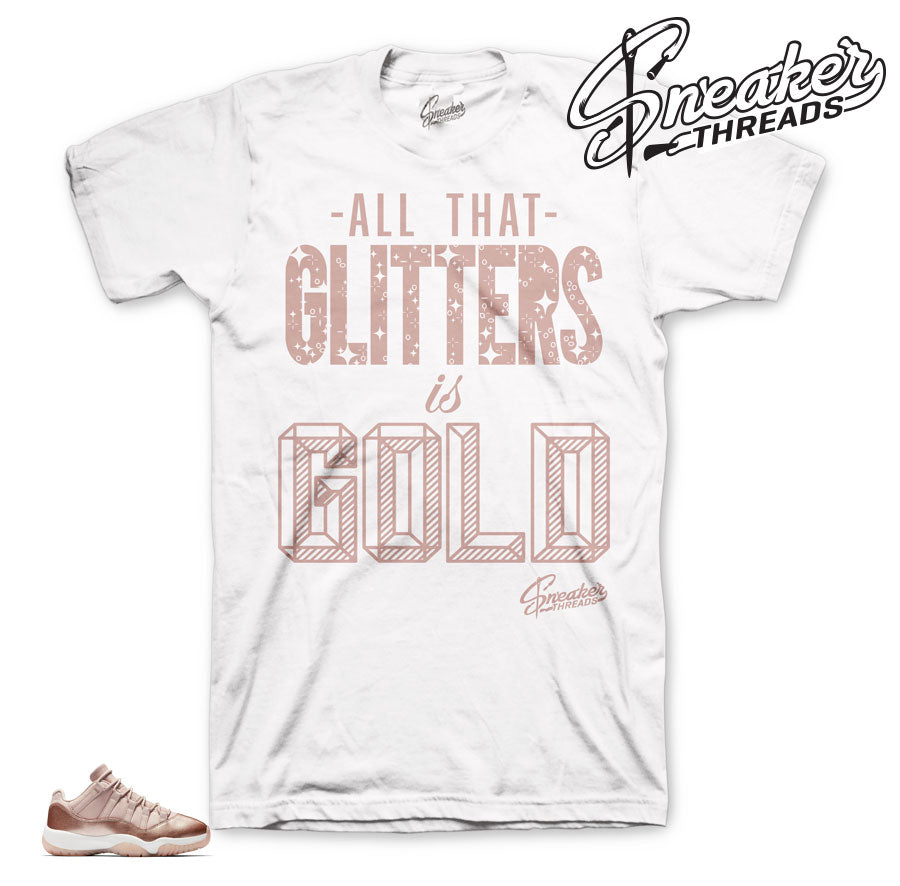 Jordan 11 rose gold sneaker tees | the best t shirts to match.