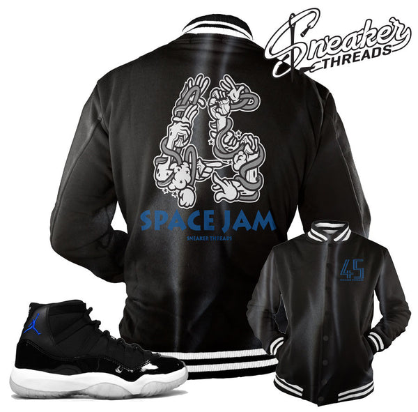 6154119976fc0a ... Jordan 11 space jam jackets match retro 11 space jam coat. Clothsurgeon  Bespoke ...