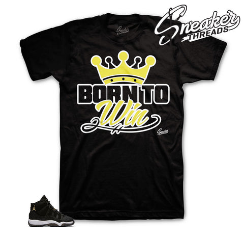Jordan 11 Stingray Born To Win Shirt