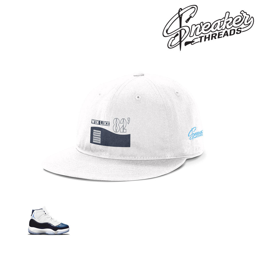 ae62fa6d Jordan 11 win like 82 dad hat matches retro 11 shoes.