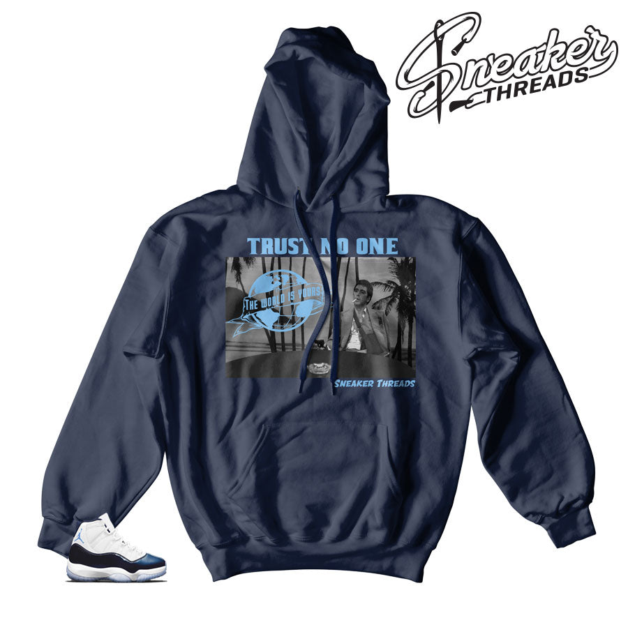 Jordan 11 win like 82 hoodies match shoes | Fresh new hoody match.